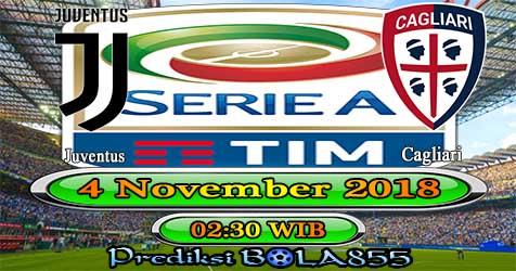 Prediksi Bola855 Juventus vs Cagliari 4 November 2018