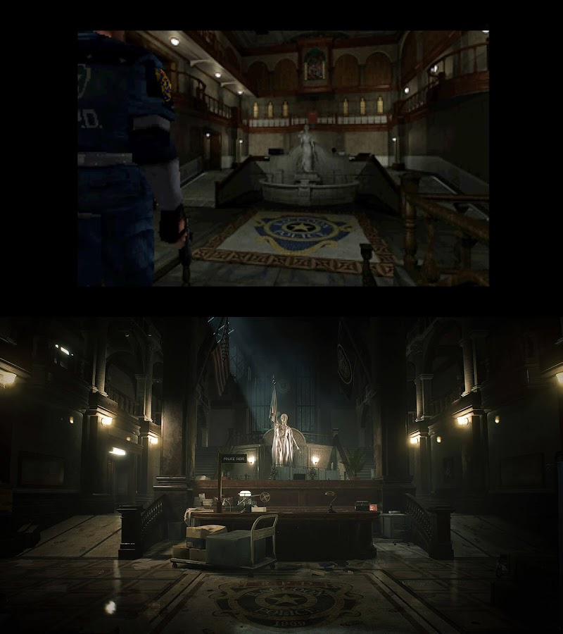 resident evil 2 remake raccoon city