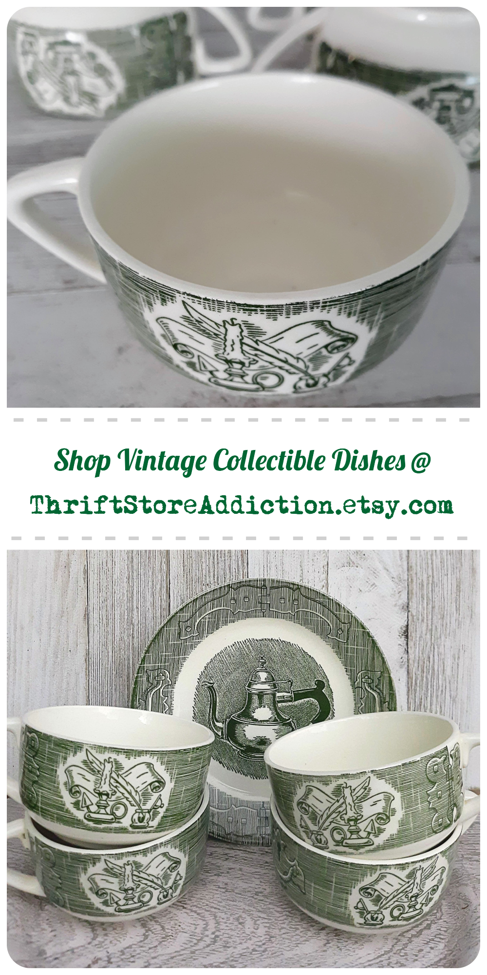 vintage collectible dishes