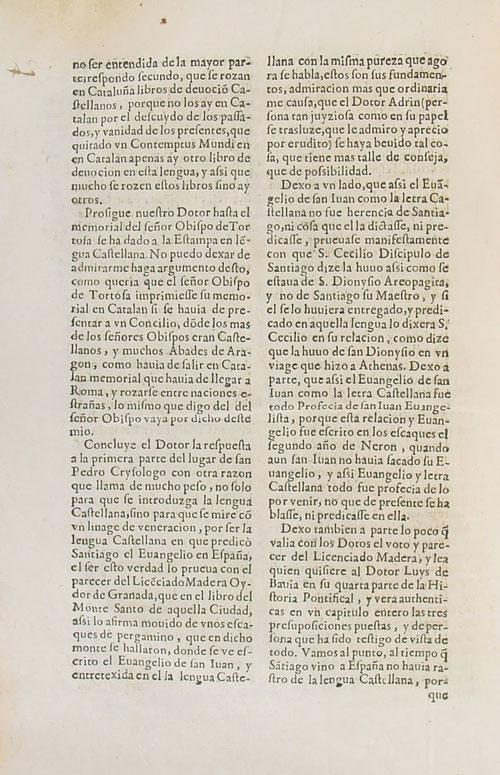Memorial en defensa de la lengua catalana para que se predique en ella en Cataluña. 10
