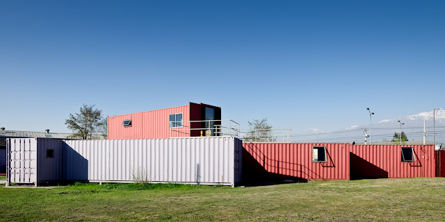 Shipping Container Sale Rooms, Showroom and Offices, Santiago, Chile 7