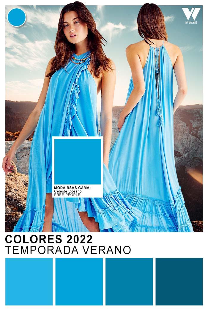 colores moda verano 2022 celeste