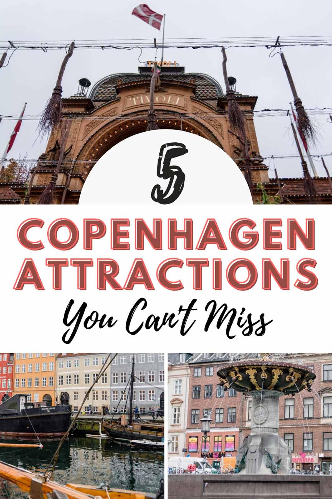 Top 5 Attractions in Copenhagen You Can't Miss