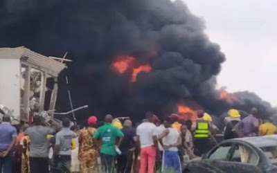 Another Gas Explosion Kills One, Injures Four Others In Lagos