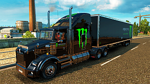 Monster Energy pack for Kenwoorth T800
