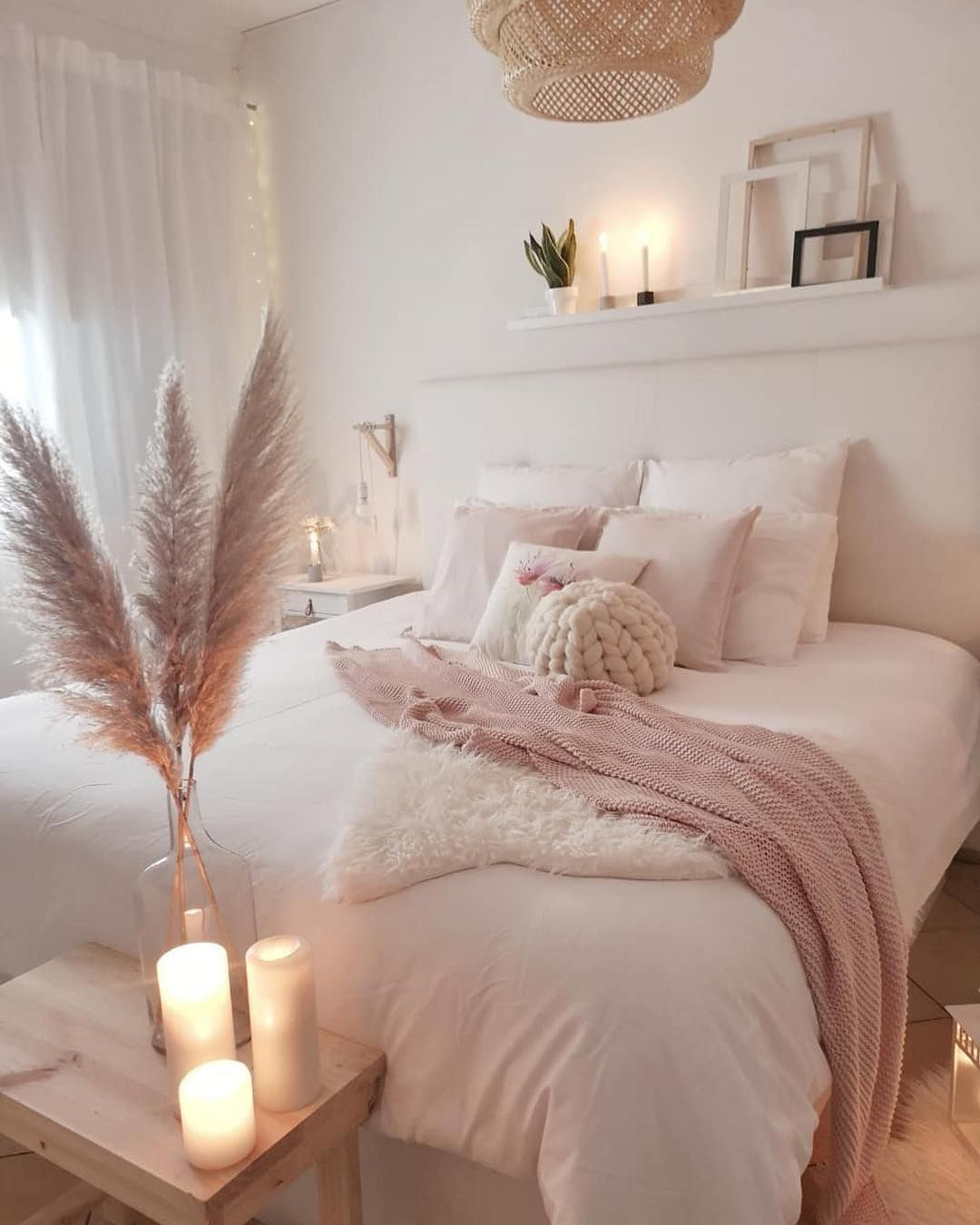 Pretty Pink Bedroom Ideas For You