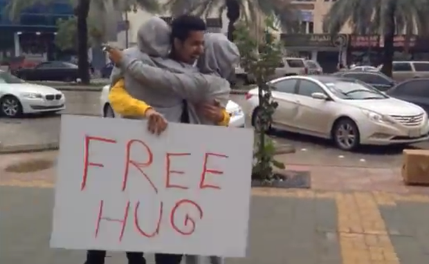 EMBASSY OFFICIAL WHO GAVE A HUG IS ACCUSED OF OVERSERVICING A