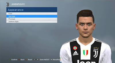 PES 2017 Faces Paulo Dybala by ABW_FaceEdit