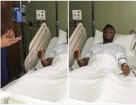 Mikel Obi Undergoes Successful Surgery, Rehab Next (Photo)