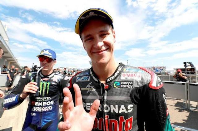 Beginilah Alasan Yamaha Rekrut Quartararo dan Singkirkan Rossi jadi Pembalap
