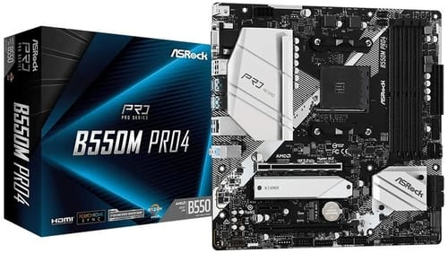 Review ASRock B550M PRO4 Motherboard