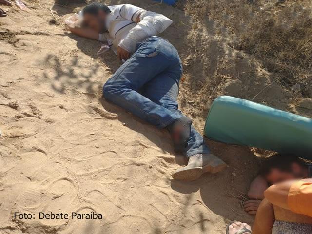 Fotos: Três pessoas ficam feridas após colisão entre duas motos em Nazarezinho