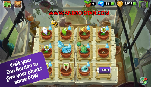 Cara Install Plant Vs Zombie 2 Apk Mod Full