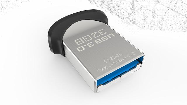 Sandisk Ultra Fit 32GB USB3.0 Memory Flash Drive Disk