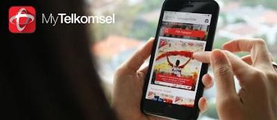 Cara Memasukan Voucher Telkomsel Lewat Aplikasi My Telkomsel