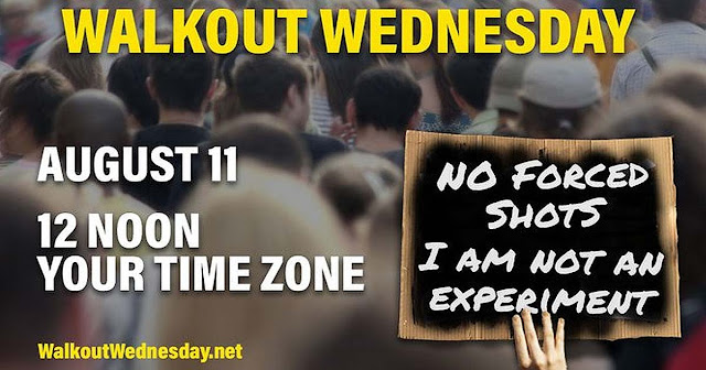 walkout wednesday covid vaccine