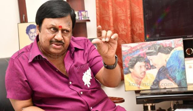 Actor Ramarajan hospitalized after having breathing problems