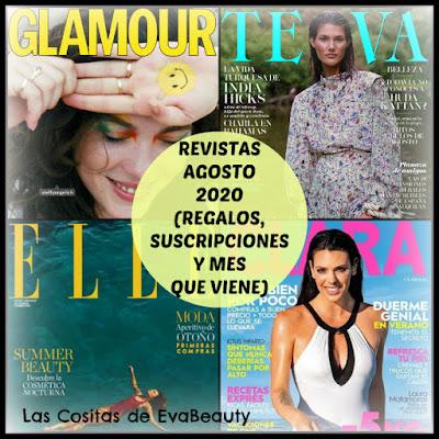 revistas femeninas mujer agosto 2020 noticias moda y belleza