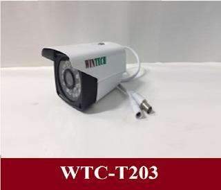 Camera AHD WinTech WTC-T203H Độ phân giải 2.0 MP