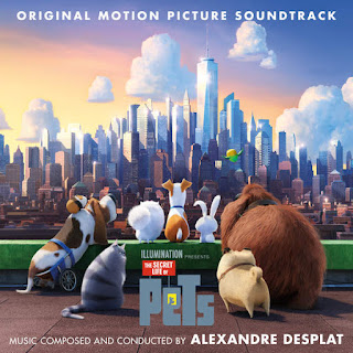 Alexandre Desplat - The Secret Life of Pets (OST) (2016) -  Album Download, Itunes Cover, Official Cover, Album CD Cover Art, Tracklist