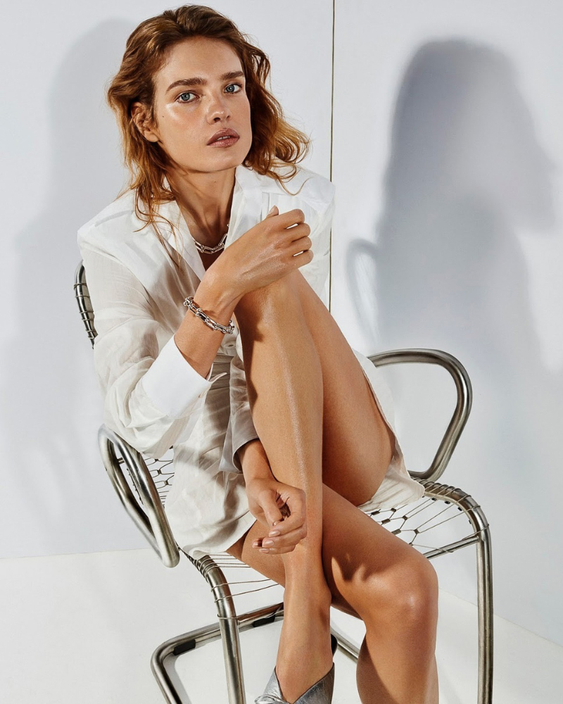 Natalia Vodianova russian sexy photoshoot