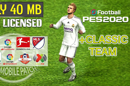Patch PES 2020 Mobile V4.1.0 eFootbal By TRIZR PATCH