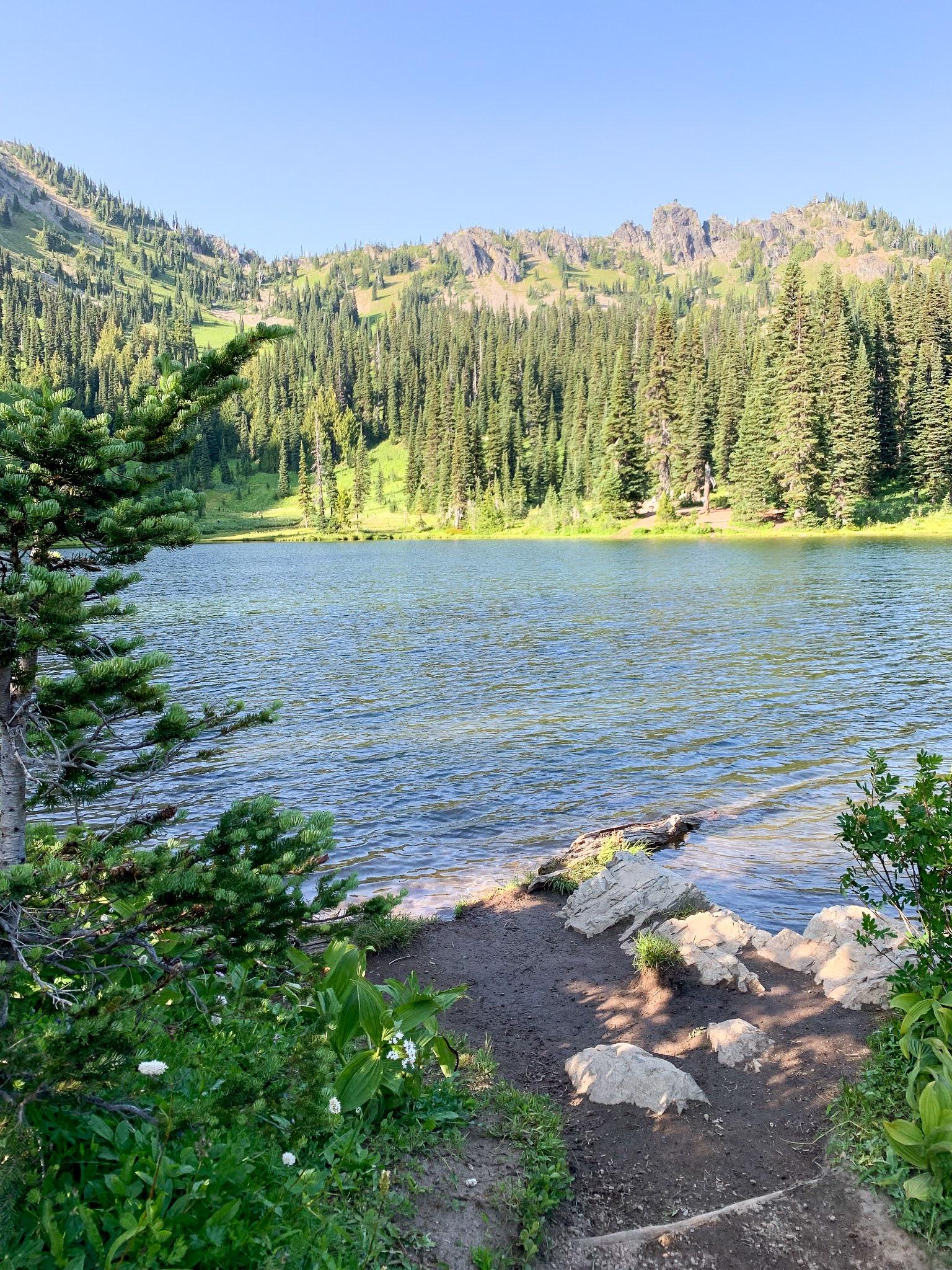 Sheep Lake is a beautiful lake