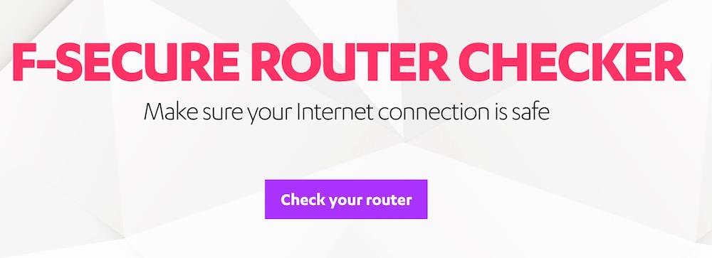 Come capire se il nostro router è stato violato con F-Secure Router Checker
