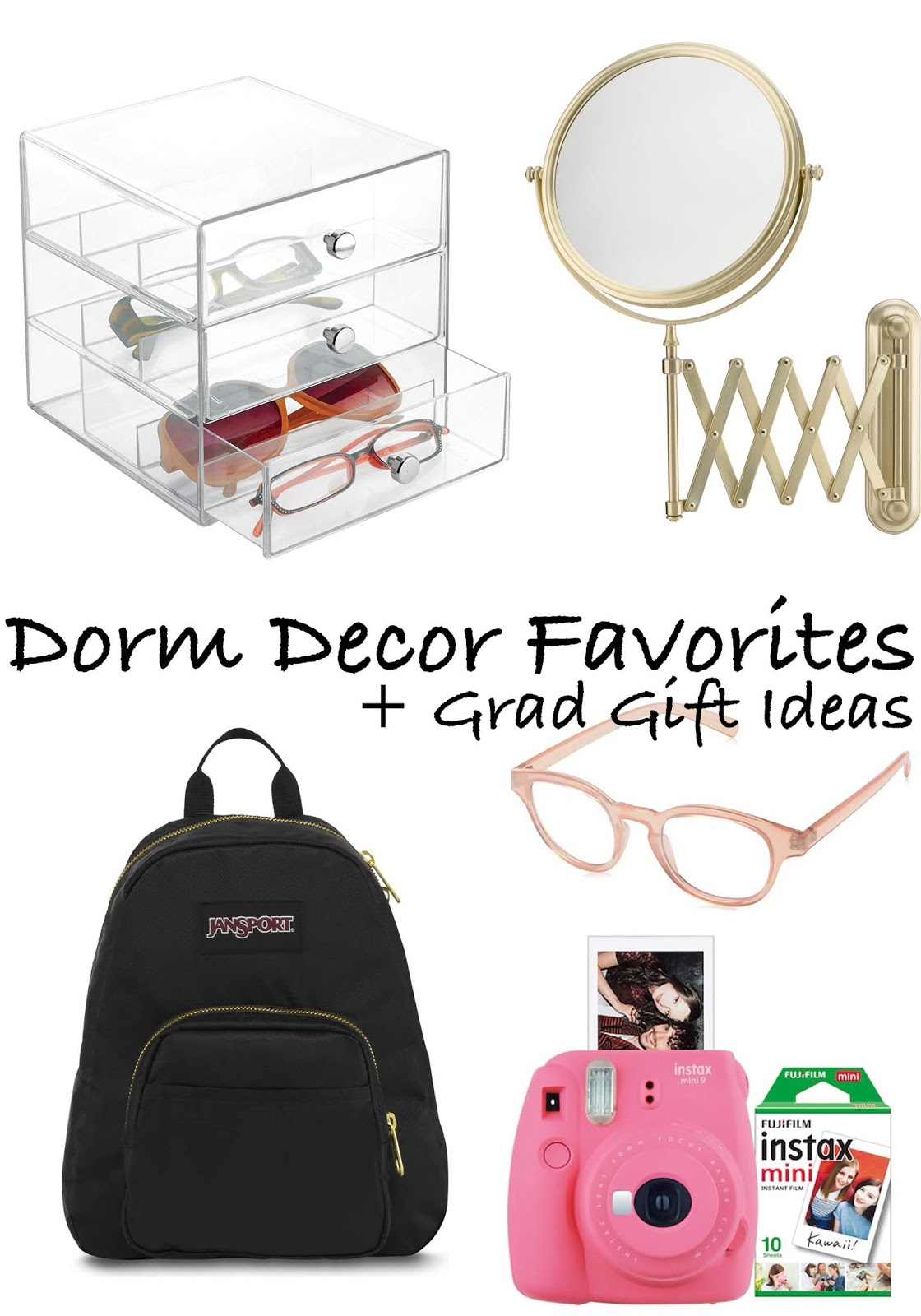 Dorm Decor Favorites + Grad Gift Ideas