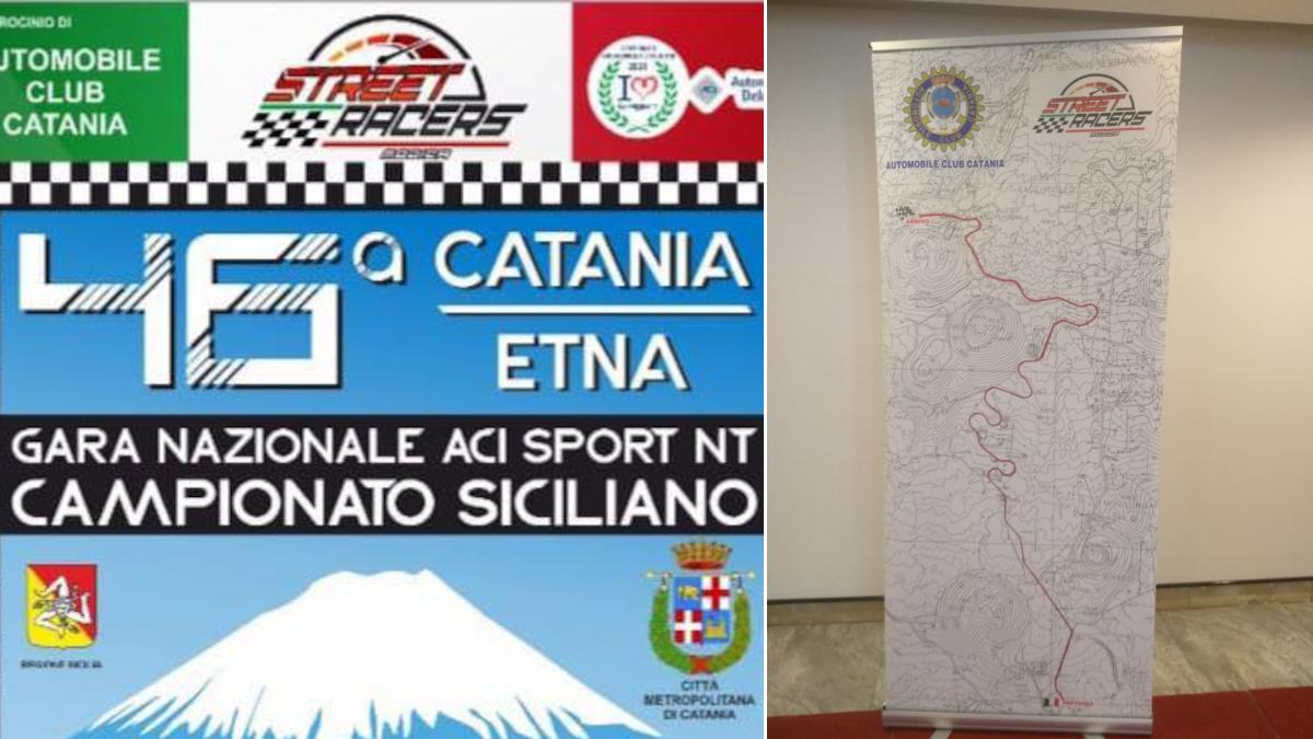 Cronoscalata Catania Etna chiusura SP 92