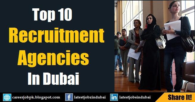 Top 10 Job Recruitment Agencies in Dubai UAE