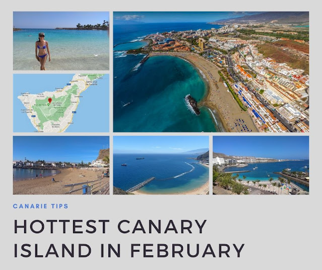 best canary island in february