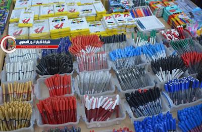 اسعار الأدوات المدرسية المكتبية الكراس والكشكول والاقلام في الفجالة بالجملة والقطاعي في مصر 2022 بعد انخفاض الاسعار مقارنة بالعام الماضي