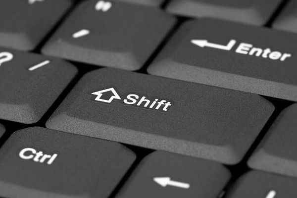 Shift Key 1878 | Sejarah singkat tombol SHIFT