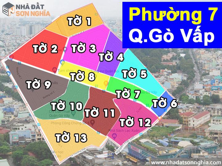 Thông tin quy hoạch phường 7 quận Gò Vấp