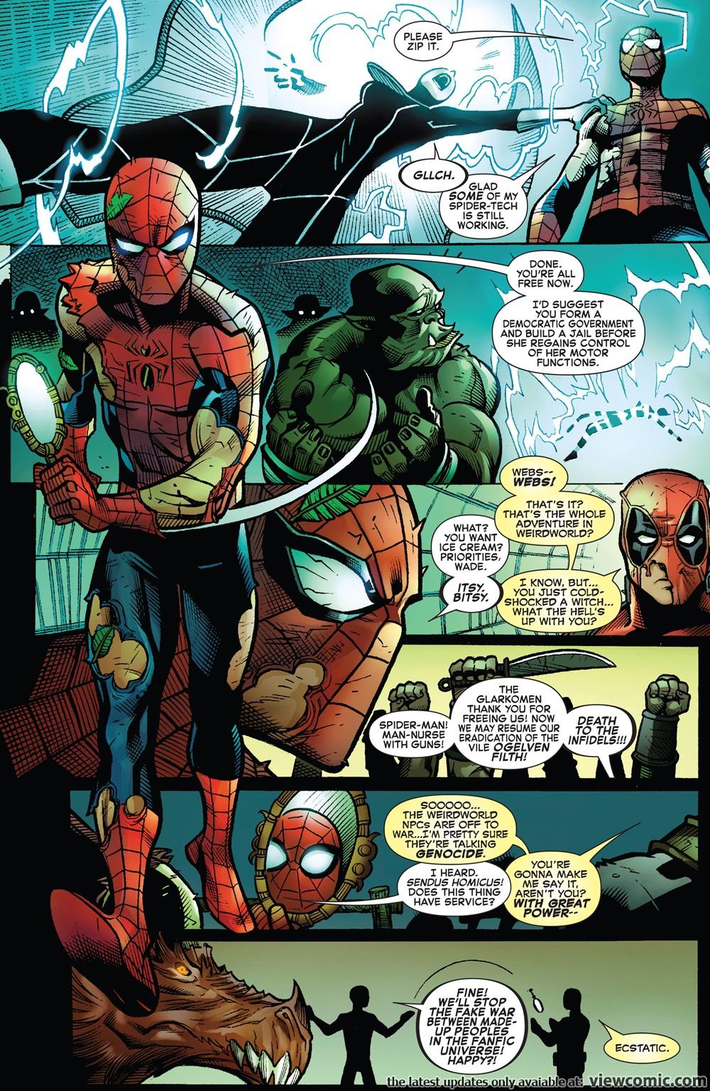 Spider Man Deadpool 013 2017