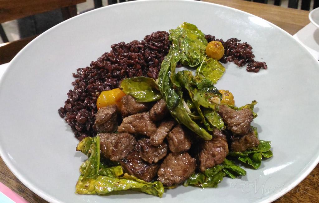 runners kitchen lowes cart runner s ph restaurant review xoxo mrsmartinez beef salpicao php 395 black rice 50