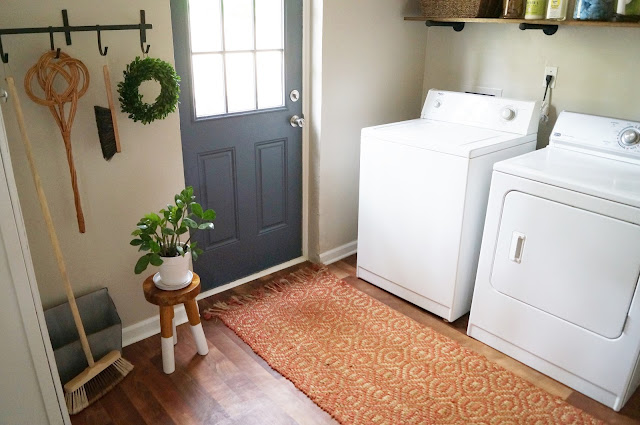 mud room laundry combination