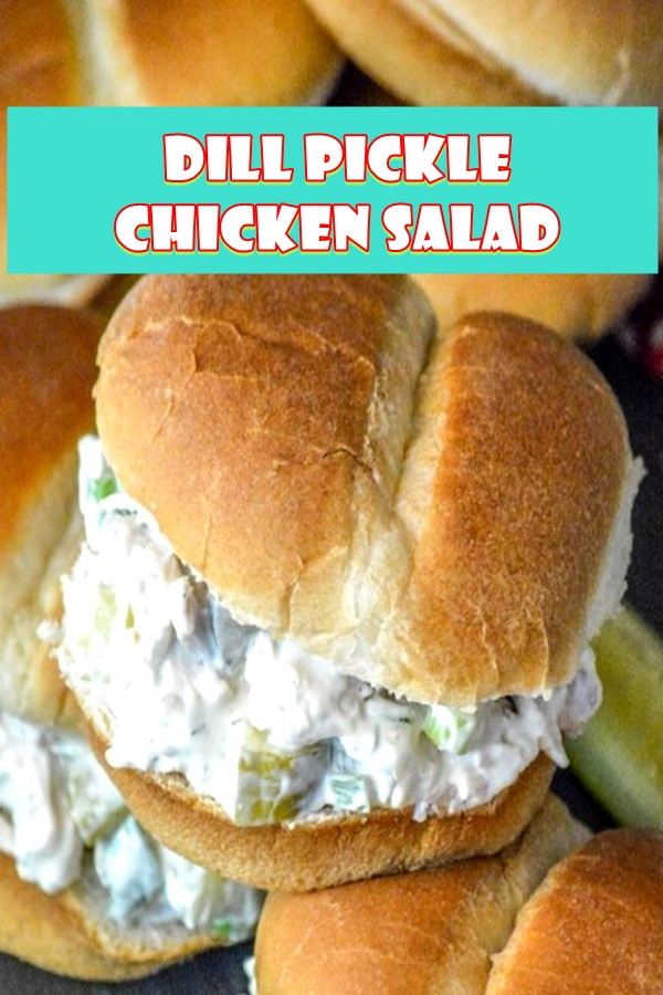 #DILL #PICKLE #CHICKEN #SALAD