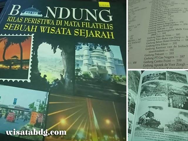 Buku Bandung Kilas Peristiwa di Mata Filatelis, Sebuah Wisata Sejarah