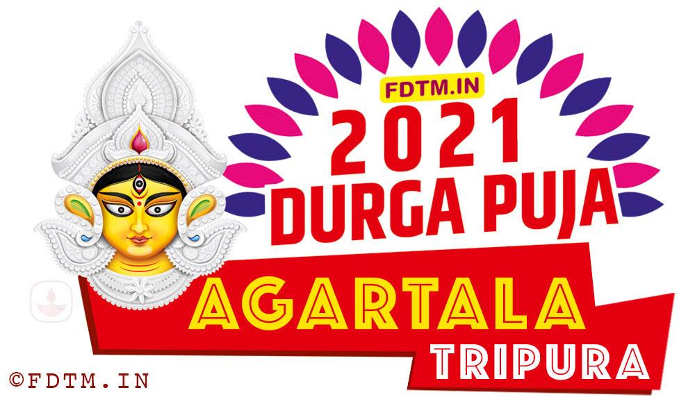 2021 Agartala Durga Puja Calendar, 2021 Tripura Durga Puja Calendar