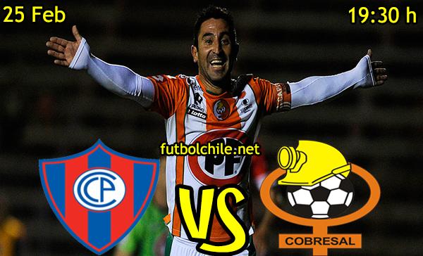 VER STREAM EN VIVO, ONLINE:  Cerro Porteño vs Cobresa