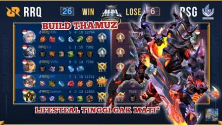 Build Thamuz RRQ R7 Tersakit