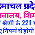 हिमाचल प्रदेश सचिवालय (Secretariat) शिमला में चतुर्थ श्रेणी के 221 पदों पर नये नियमो से होगी भर्ती