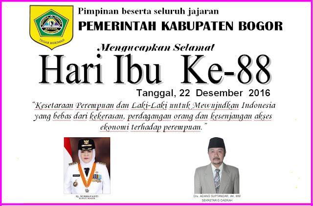Peringatan Hari Ibu Ke-88 Kabupaten Bogor 2016 235