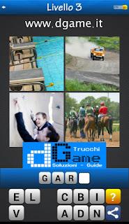 PACCHETTO 7 Soluzioni Trova la Parola - Foto Quiz con Immagini e Parole livello 3