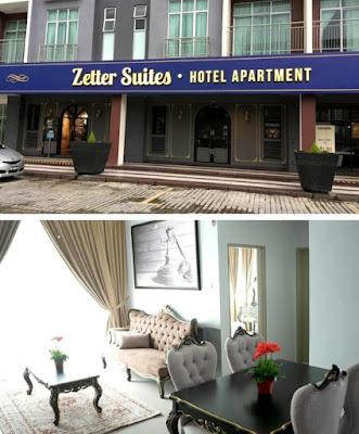 Zetter Suites Hotel Apartment bilik