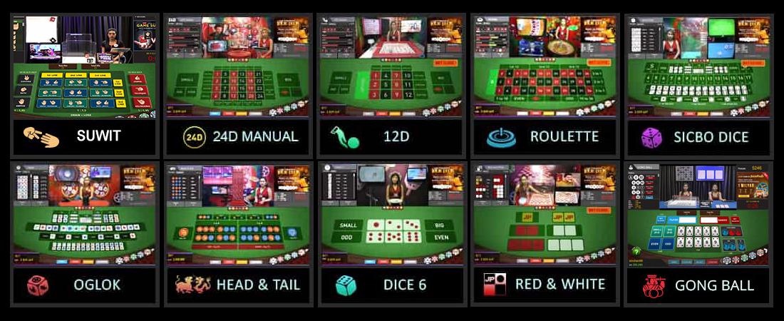 Live casino ovjtoto
