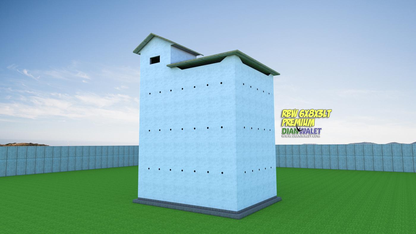 Desain Bangunan Walet 6x8 3 Lantai Premium Dian Walet
