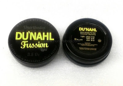 Du'nahl Fussion Light Unorthodox Water Oil Pomade
